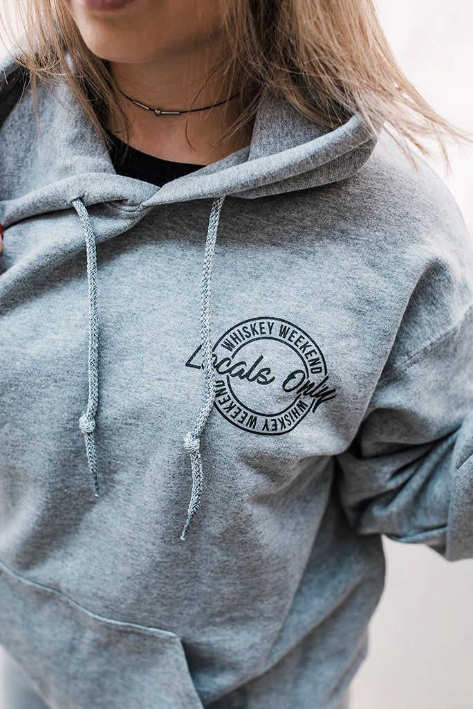 2017 LOCALS ONLY Classic Old School Hoodie