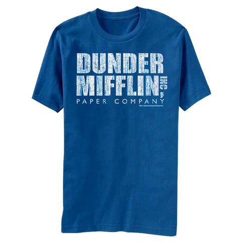The Office Distressed Dunder Mifflin