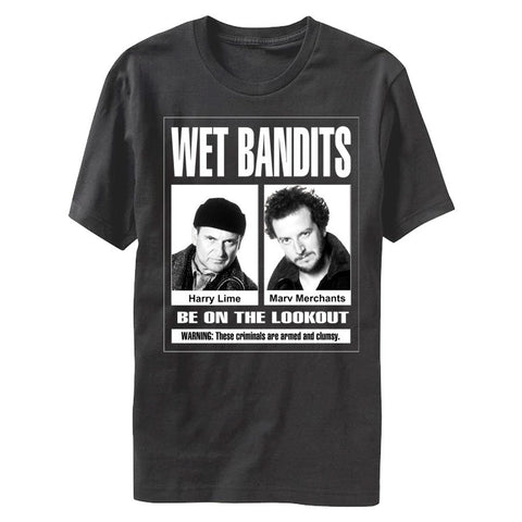 Home Alone Wet Bandits BW