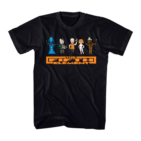 The Fifth Element 8bit Cast
