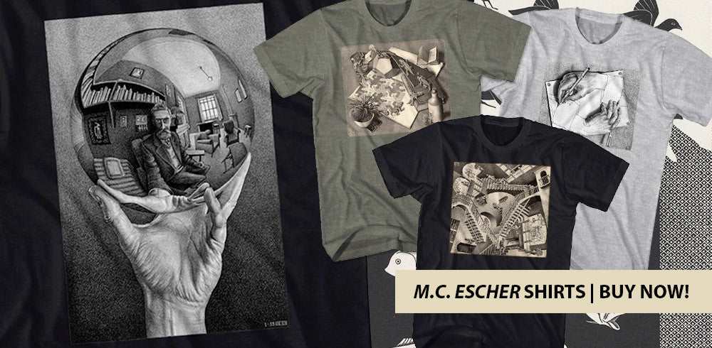 Shop our M.C. Escher Shirts
