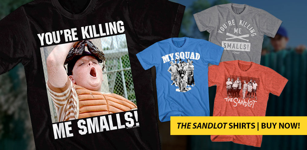 Shop our shirts from The Sandlot