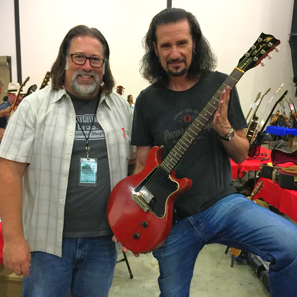 Bruce Kulick and Mickey Kappes of Distortion Brothers Guitar Shop