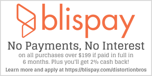 Special Financing by Blispay - Distortion Brothers Guitar Shop