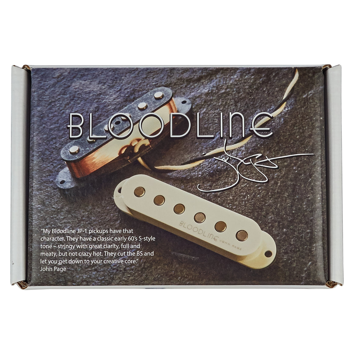 John Page Classic Bloodline JP-1 - Distortion Brothers Guitar Shop