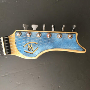 M-tone Guitars Flight Risk in Willow Green - Distortion Brothers Guitar Shop