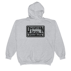 Zip Up Hoodie - Distortion Brothers Guitar Shop