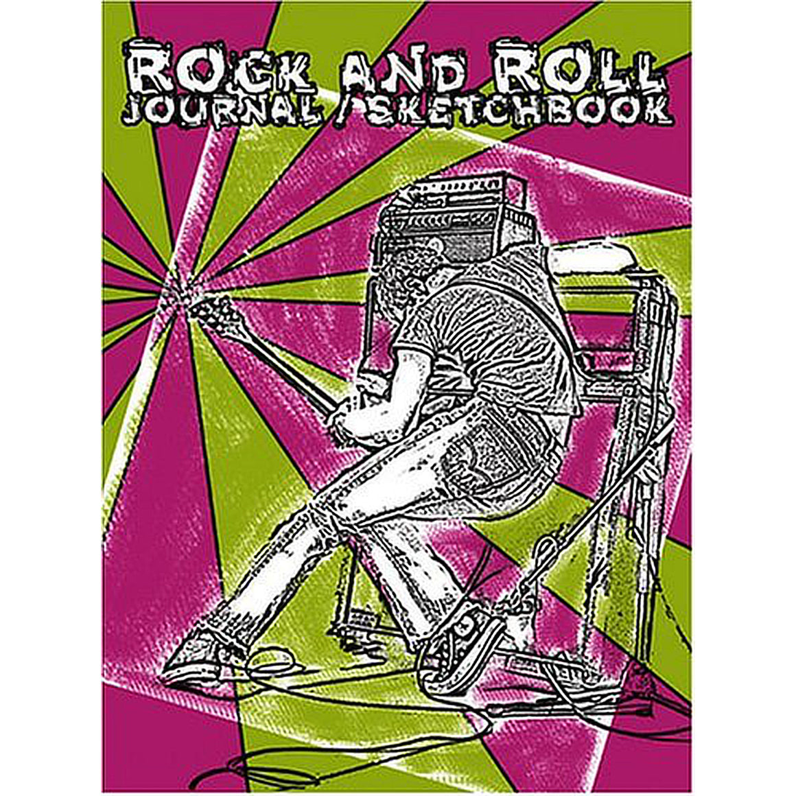 Rock and Roll Journal/Sketchbook - Distortion Brothers Guitar Shop