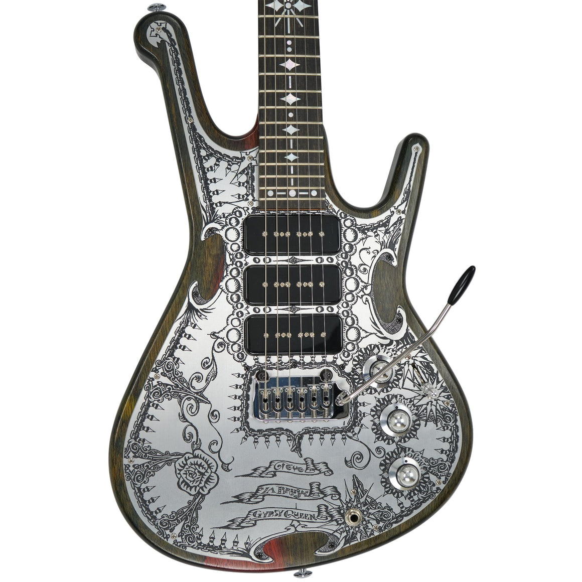 "Teye Guitars Qypsy Queen ""La Bruja"" - Distortion Brothers Guitar Shop"