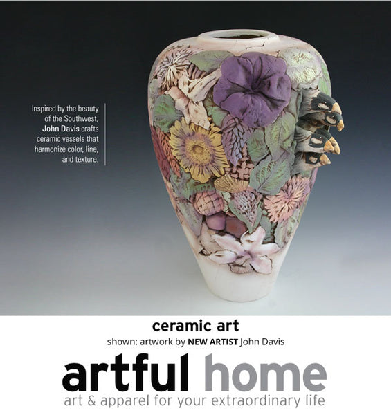 John Davis on Artful Home