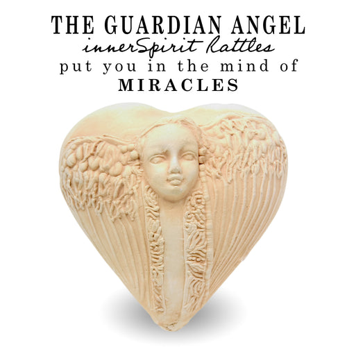 J. Davis Studio innerSpirit Rattles | Guardian Angel Spirit Rattle