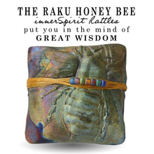 Honeybee Raku Square innerSpirit Rattle