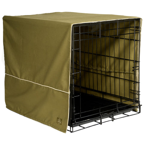 Classic Dog Crate Cover - Olive