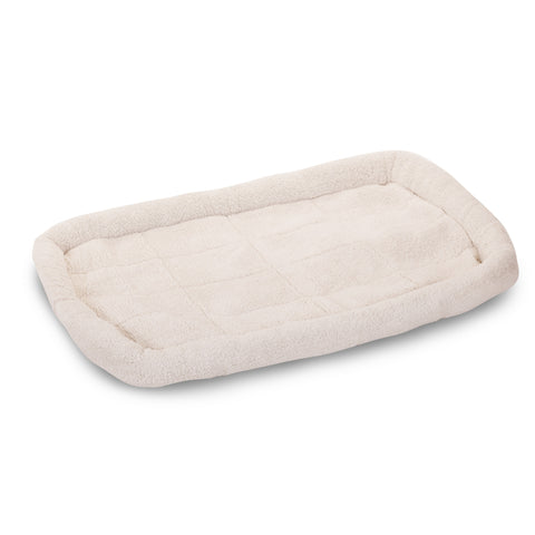 "24 - 48"" Thick & Soft Sherpa Crate Pet Bed Mat - Happy Paws Pet Shop"