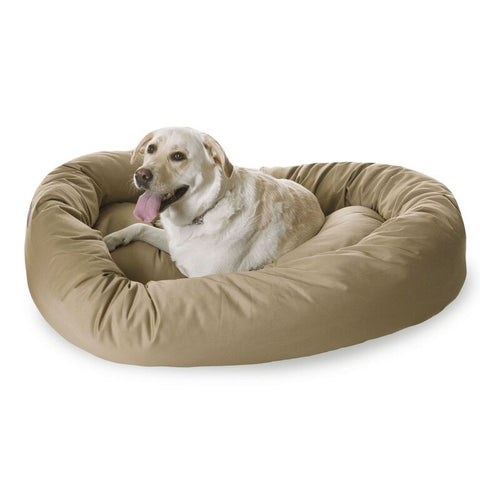 "52"" Extra-Large Bagel Dog Bed - Happy Paws Pet Shop - 1"