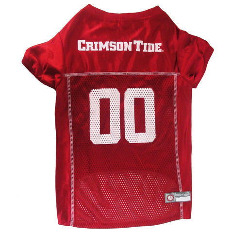 Alabama Crimson Tide NCAA Dog Jersey - Happy Paws Pet Shop - 1