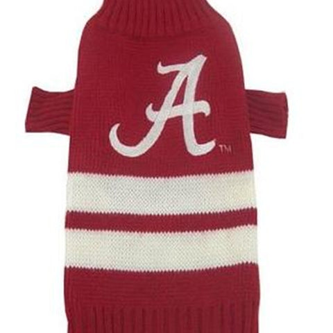 Alabama Crimson Tide NCAA Dog Sweater - Happy Paws Pet Shop - 1