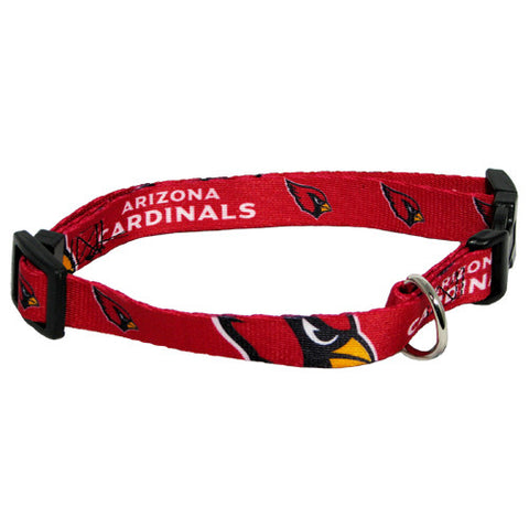Arizona Cardinals NFL Licensed Dog Collar - Happy Paws Pet Shop