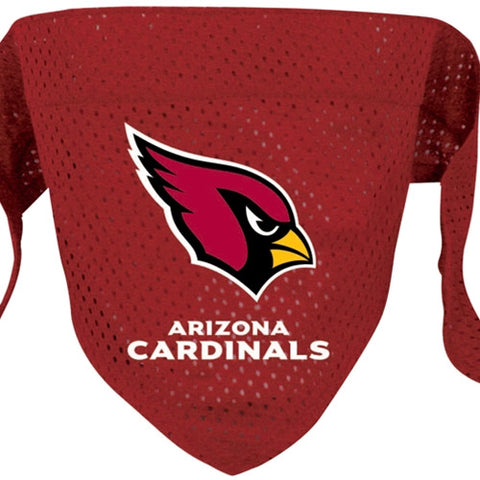 Arizona Cardinals NFL Licensed Dog Bandana - Happy Paws Pet Shop - 1