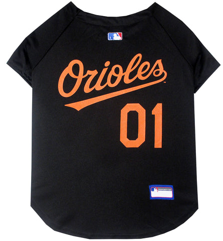 Baltimore Orioles MLB Dog Jersey - Happy Paws Pet Shop - 1