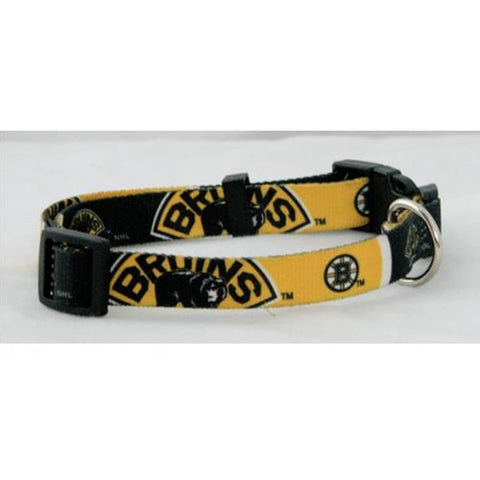 Boston Bruins NHL Licensed Dog Collar - Happy Paws Pet Shop - 1