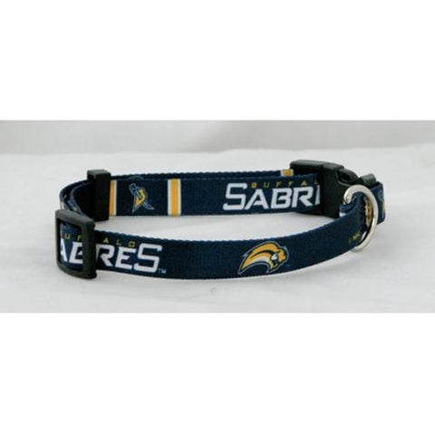 Buffalo Sabres NHL Licensed Dog Collar - Happy Paws Pet Shop - 1