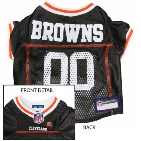 Cleveland Browns NFL Dog Jersey - Happy Paws Pet Shop - 1