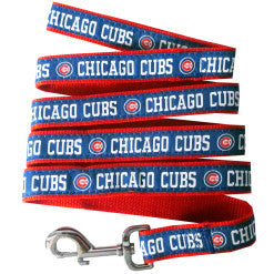 Chicago Cubs MLB Ribbon Dog Leash