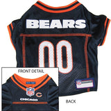 Chicago Bears NFL Dog Jersey - Happy Paws Pet Shop - 1