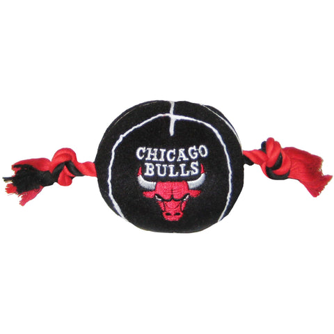 Chicago Bulls NBA Plush Basketball Dog Toy - Happy Paws Pet Shop