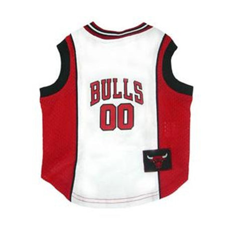Chicago Bulls Licensed NBA Dog Jersey - Happy Paws Pet Shop - 1