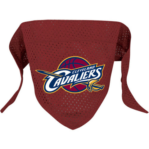 Cleveland Cavaliers NBA Licensed Dog Bandana - Happy Paws Pet Shop - 1