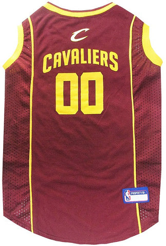Cleveland Cavaliers Licensed NBA Dog Jersey - Happy Paws Pet Shop - 1