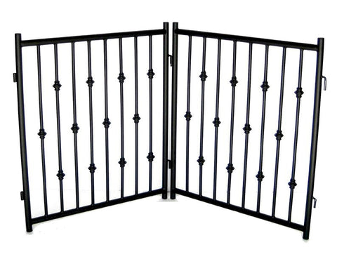 Emperor Rings 2 PC Freestanding Gate - Happy Paws Pet Shop