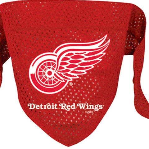 Detroit Red Wings NHL Dog Bandana - Happy Paws Pet Shop - 1