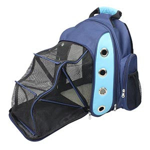 FurryGo Luxury Backpack Pet Carrier with Lounge - Happy Paws Pet Shop - 1