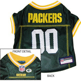 Green Bay Packers NFL Dog Jersey - Happy Paws Pet Shop - 2