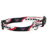 Houston Texans NFL Licensed Dog Collar - Happy Paws Pet Shop
