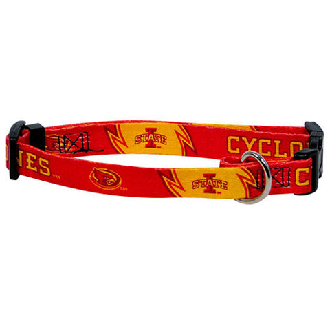 Iowa State Cyclones NCAA Licensed Dog Collar - Happy Paws Pet Shop