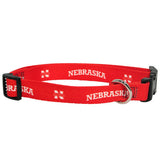Nebraska Huskers NCAA Licensed Dog Collar - Happy Paws Pet Shop