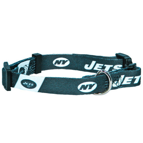 New York Jets NFL Licensed Dog Collar - Happy Paws Pet Shop