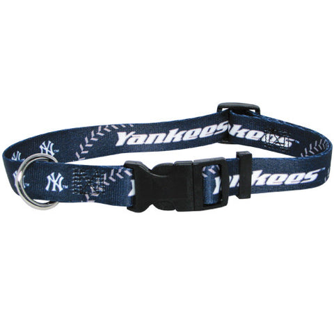 New York Yankees MLB Licensed Dog Collar - Happy Paws Pet Shop