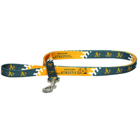Oakland A's MLB Dog Leash - Happy Paws Pet Shop