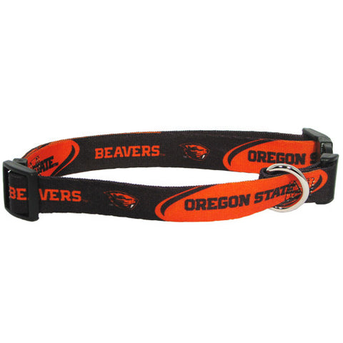 Oregon State Beavers NCAA Licensed Dog Collar - Happy Paws Pet Shop
