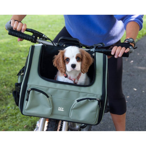 3-in-1 Pet Bike Basket and Carrier - Large - Happy Paws Pet Shop - 1