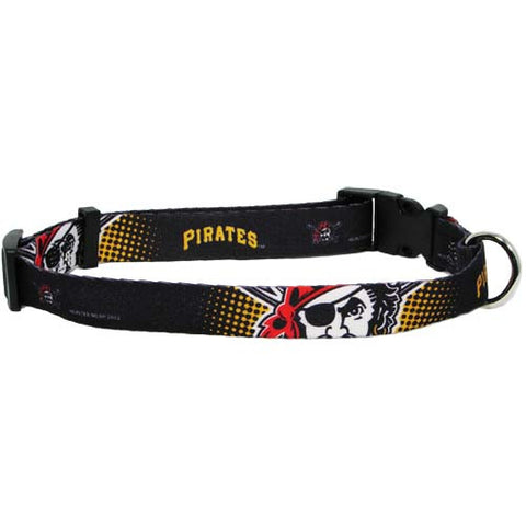 Pittsburgh Pirates MLB Licensed Dog Collar - Happy Paws Pet Shop