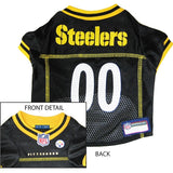 Pittsburgh Steelers NFL Dog Jersey - Yellow Trim - Happy Paws Pet Shop - 3