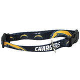 San Diego Chargers NFL Licensed Dog Collar - Happy Paws Pet Shop