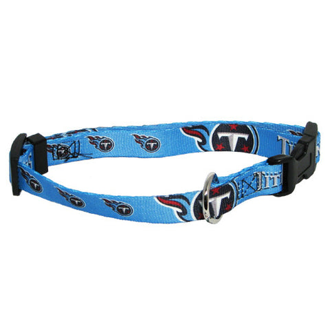 Tennessee Titans NFL Licensed Dog Collar - Happy Paws Pet Shop