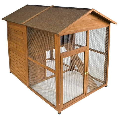 Premium Chick-N-Lodge Chicken Coop - Happy Paws Pet Shop